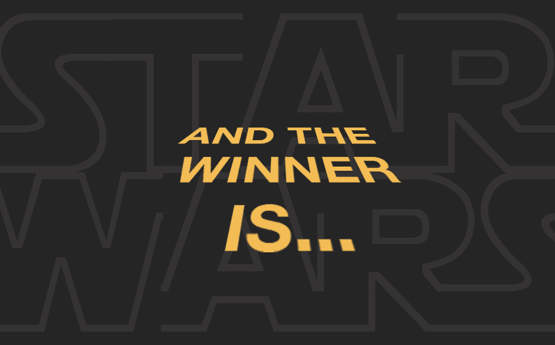 Star Wars Takeover: And the Winner Is…