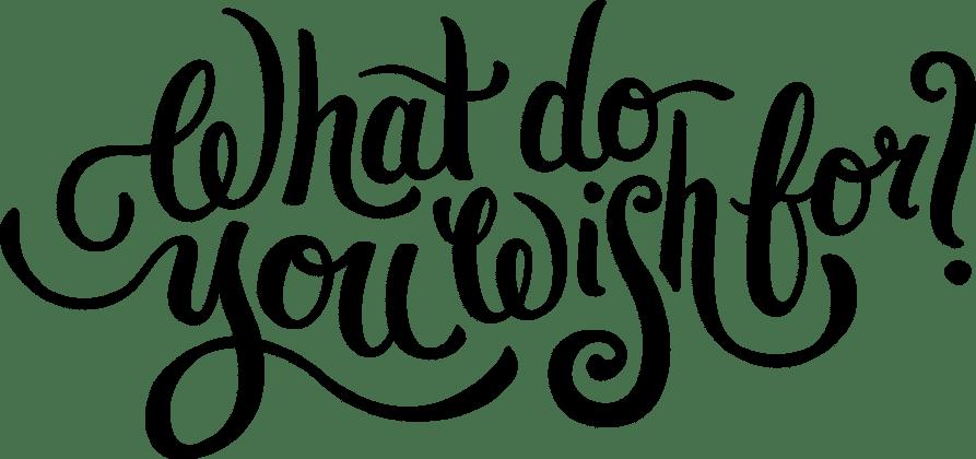 wish-typography