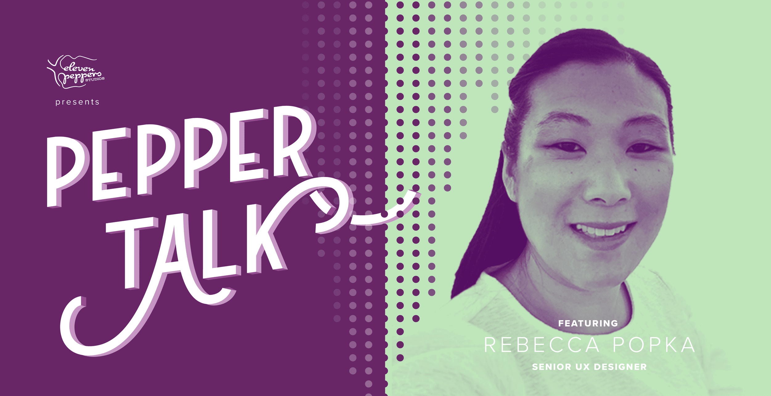 Pepper Talk with Rebecca Popka