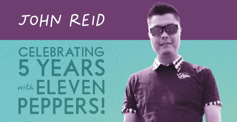 Celebrating 5 Years: John Reid